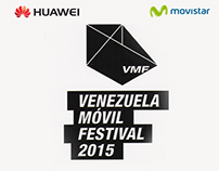Venezuela Móvil Festival: 2015 Branding