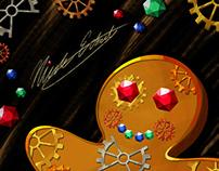 Gingergear Man: Christmas Card 2019