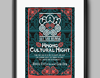 Hmong Cultural Night Poster