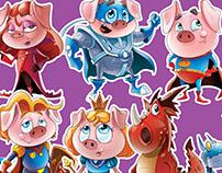 Adventures of pigs