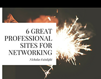 6 Professional Networking Sites - Nicholas Fainlight