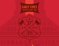 * Early Times : Hot Cinnamon Whiskey//