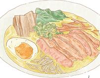 Foods illustration 1