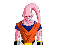 Majin Buu - Gohan Absorved - Full body