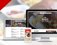 Burgery | Burger Bar - Restaurant Adobe Muse Template