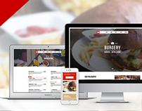 Burgery | Burger Bar - Restaurant Adobe Muse Template