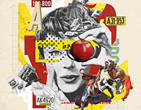 Collage Artwork 322-327