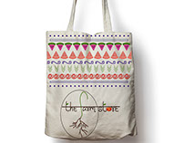 Tote Bag Design and Logo for a Local Farm Store