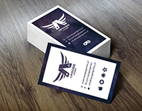 Business card for Apogee Games