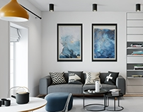 Unreal Engine 4 Apartment in Blue