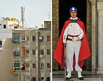 In Rabat: Royal Guards and parabolic antennas