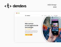 Website - Agência de Tecnologia Dendevs
