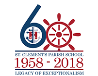 St. Clement's 60th anniversary logo