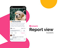 SOSAFE - Report view
