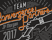 3 hour logo - Convergence Partners JP Morgan shirt