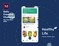 Healthy Life- XD Creative Challenge