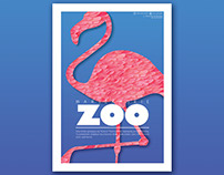 Warsaw ZOO. Posters series.