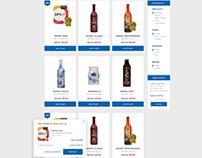 Shopping Cart UI Design