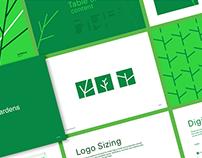 GreenGardens Brand Identity Design.