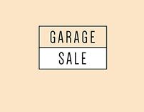 Garage Sale Advertisement Design