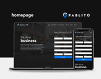 Homepage - Pablito