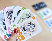 7 familles toquées - jeu de cartes