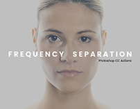 Frequency Separation PS Actions