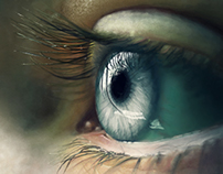 Eye Study - Digital Painting