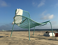 Wave Outdoor Lounge Chair