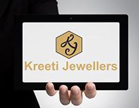 Kreeti Jewellers Logo Design