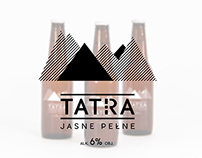 Tatra beer packaging redesign