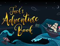 Jack's Adventure Book [FREE FONT]