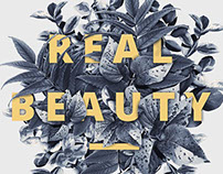 """Poster """"Real beauty"""""""