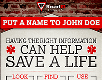 Road ID First Responder Education Poster