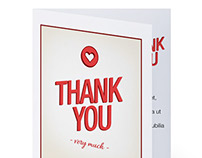 Printable thank you e-gift card