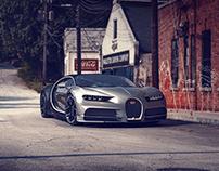 Bugatti on the Street