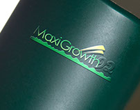 Maxigrowth92 brand logo design
