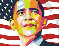 Barrack Obama WPAP