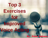 Peter Salzano - Top 3 Exercises for Improved Voice Acti