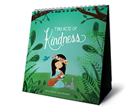 Tiny Acts of Kindness 2018 Calendar