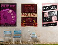 Coleção de Posters - Festivais