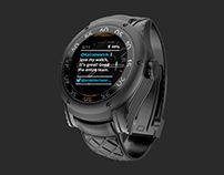 Kairos - UX + UI for Smartwatch