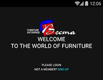 "App for furniture company ""Vesta"""