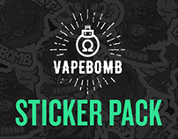 Vapebomb Stickers by Jester