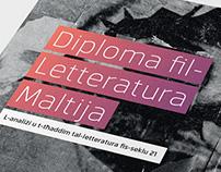 Diploma fil- Lettaratura Maltija