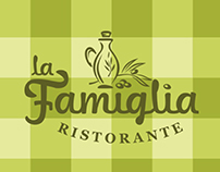 La Famiglia. Branding of the italian restaurant.
