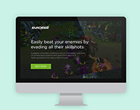 Landing Page for Evadee