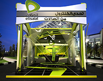 Etisalat booth & truck