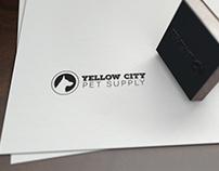 Yellow City Pet Supply Logo
