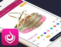An Amazing eCommerce Jewelry App Design